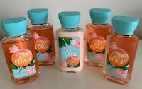 5 pc PRETTY as a PACH Bath & BODY WORKS 4 pc x 3 FL OZ / 88 ml shower gel LOTION
