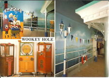 Somerset: Wookey Hole, Multiview, The Old Penny Pier Arcade - Unposted c.1980's