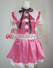 Is This A Zombie? Haruna Pink Party Lolita Dress Cosplay Costume J001
