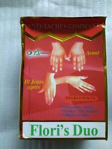 flori'S Duo Anti Taches Gommant (Serum & Lotion).with collagen & vitamin E