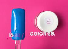 Gel de couleur  UV / LED   7ml Naility   N°75 Neon Blue fluo 0.23 Fl oz