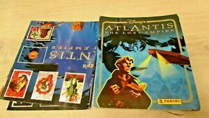 VINTAGE DISNEY ATLANTIS THE LOST EMPIRE STICKER BOOK WITH POSTER