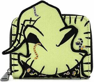 Loungefly Licensed Disney NBC Oogie Boogie Creepy Crawlies Zip Around Wallet