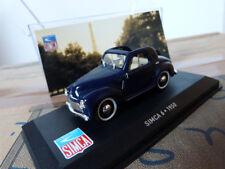 """Simca miniature 1/43 - 6 Coupé découvr.1950 - Ixo """"Les belles années Simca"""""""