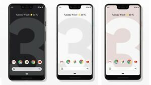 "Google Pixel 3 XL 64GB 4GB RAM 6.3"" IP68 Octa-core Android 4G Phone By FedEx"