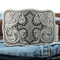 Silver Colored Western Belt Buckle - Cross - Gift For Cowgirl