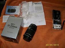 Canon EF-S 55-250 mm-IS II NUOVO OVP per 60d 600d 70d 700d 7d 750d