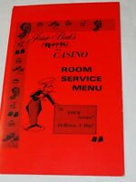 JESSIE BECK'S Riverside Hotel and Casino ROOM SERVICE MENU Reno Nevada 1970's