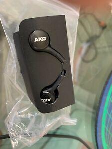 Galaxy S10 Plus AKG Headphones Earbuds OEM EO-IG955 Wired Mic Black