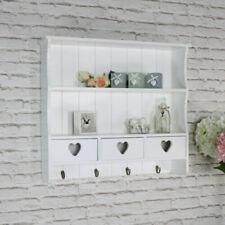 Mobili e pensili mensole bianche in legno per la casa
