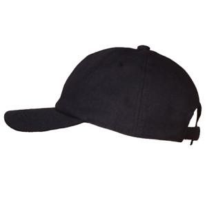 Hemp Baseball Cap, Eco-friendly Hemp Hat (Black or White)