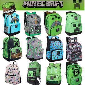 Minecraft Rucksack Schultasche Studenten Büchertasche Handtaschen Reisetasc