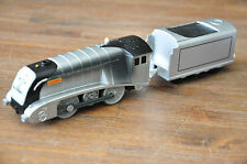 THOMAS TRACKMASTER TRAIN MOTORISED ENGINE - METALLIC SPENCER SOOT ASH - Excellen