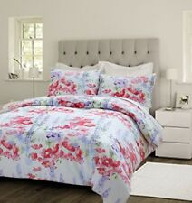 SINGLE DOUBLE KING QUILT COVER DUVET SETS VINTAGE FLORAL TRADITIONAL PRINTED