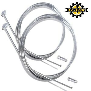 BARREL END BRAKE CABLE Inner Wire Mountain Bikes & MTB Hybrid Cycles + End Caps
