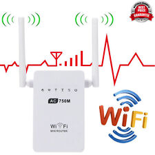 2.4/5G Wireless AC02 Wifi 750Mbps Range UK Plug Router Repeater Extender Booster