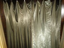 ROBERTSON FACTORIES BRONZE SHIMMER (PAIR) POLE TOP PANELS W/RINGS 52 X 82
