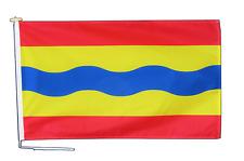 Overijssel Pays-Bas Drapeau 3'x2' (90cm x 60cm) Avec Corde & Bouton - Un