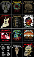 Metallica Back Patch Hardwired Kill Em All Master of Puppets Official New