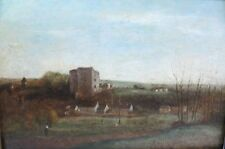 Important Original French Oil Painting  JEAN-BASTISTE CAMILLE COROT  c. 1830