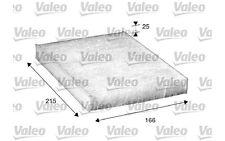 VALEO Filtro, aire habitáculo FIAT PUNTO DOBLO PANDA 500 LANCIA YPSILON 698867