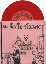 """The Devil Is Electric """"This Means War"""" 7"""" OOP Ghost Mice Disarm The Bananas"""