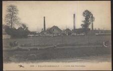 Postcard FOURCHAMBAULT France L'Usine Des Chevillettes 1910's?