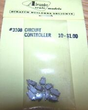 ALEXANDER SCALE MODELS-#3108 CIRCUIT CONTROLLER-DETAIL PARTS-10 PCS PER PK-NIP