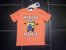 Despicable Me Minion Mania Tee Shirt / Top  (Age 3 - 4)
