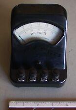 Vintage Welch D.C. Volts, Volt Meter, Lab Scientific Equipment, Chicago, USA