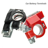 2X 12V 3 Way Car Positive Negative Battery Terminals Connectors Clamps Motorhome