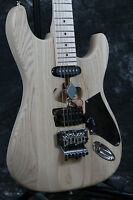 Factory store top quality ST electric guitar kits unfinished ASH body