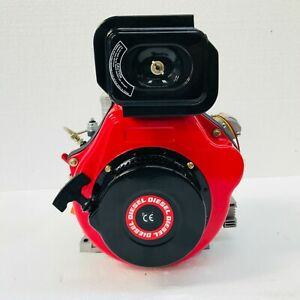 186FG10E 10HP TAPERED SHAFT DIESEL GENERATOR ENGINE REPLACES YANMAR L100 L100AE