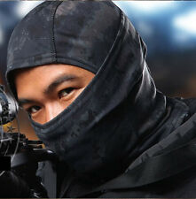 Urban Black Camouflage Balaclava Full Face Mask Camo Hunting Airsoft Paintball