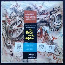 George AntheiI fierté et la passion Film Score OST LP Stanley Kramer Cary Grant