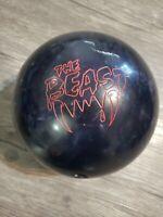 Columbia 300 The Beast 11.2 Pound Bowling Ball Blue Used Orange Dot