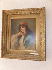 Abstrakte künstlerische Malerei von 1900-1949 auf Leinwand