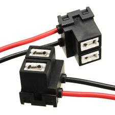 2 X H7 2 Pin Fari Luce Sostituzione Portalampada Socket Connettore Spina Filo