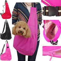 Small Pet Dog Cat Carrier Shoulder Sling Bag Tote Outside Travel Mesh Bag USA