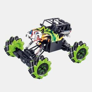 RC Auto Sideways Climbing Car Offroad Drift Car 4x4 360° Graffiti-Optik 2.4GHz