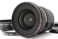【OPT MINT + Hood 】 Canon New FD NFD 20-35mm f3.5 L MF zoom Lens From JAPAN i06