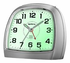 Bentima Sensa Light Alarm Clock Non Tick Silent Sweep Acctim 14697 Snooze