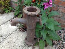 Antique Victorian cast iron water pump