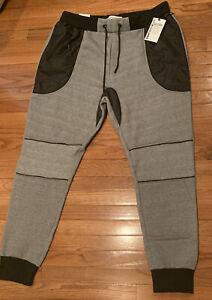 Men's Paper Denim & Cloth PD&C Soft Fleece Moto Jogger Pants 4XL NWT $82