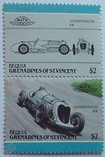 1933 NAPIER RAILTON Cobb Brooklands Car Stamps (Leaders of the World / Auto 100)
