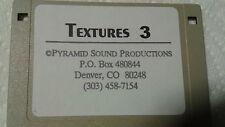 Kurzweil ~ TEXTURES 3 ~ 1 Disk of 100 Krz / V.A.S.T. Programs!!!