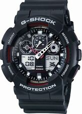 Casio G-Shock GA-100-1A4 Black Original Ana-Digi Mens Watch 200M Diver GA-100