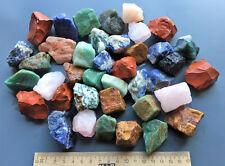 2 kg bunt gemischte EDELSTEINE Rohsteine Wassersteine (GP: 1 kg = 8,00 €)