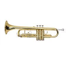 Trompette Bb Laiton trumpet Professional avec valise gants embouchure Instrument