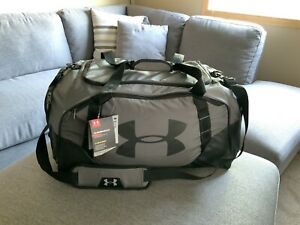 Under Armour Undeniable 3.0 Duffle Bag - Large 82L - New With Tags - GRAY/BLACK